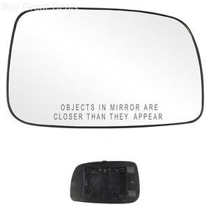 Replacement Right Side Mirror Glass For 2007 2011 Toyota Camry New