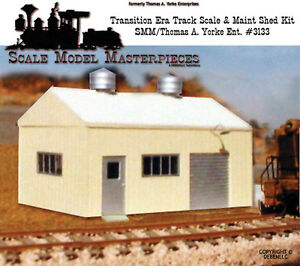 Scale-Model-Masterpieces-Yorke-1940-60-039-s-Transition-Pre-Fab-Track-Scale-Kit-HO