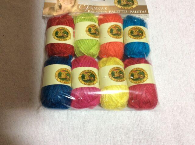 Lion Brand Vanna/'s Palette Bonbons Yarn 8//pkg-earthy