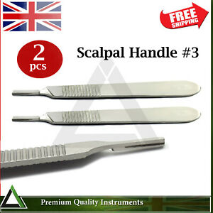 Surgical-Scalpel-Handle-Dental-Knife-Operating-Surgery-Dissection-Medical-Tools