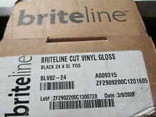 "150/' Roll Briteline Shield UV Overlaminate OLUV-GLS30 Gloss 30/"" x 150/'"