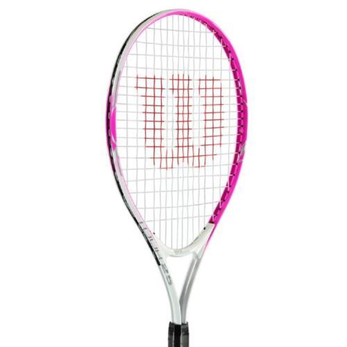 WILSON Raquette de Tennis 19 21 23 25 in Jeunes Tennis Racket Enfants Pink