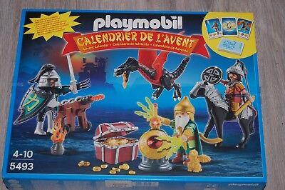 Calendrier L Avent Playmobil.Playmobil 5493 Calendrier Avent Tresor Du Dragon Neuf Ebay