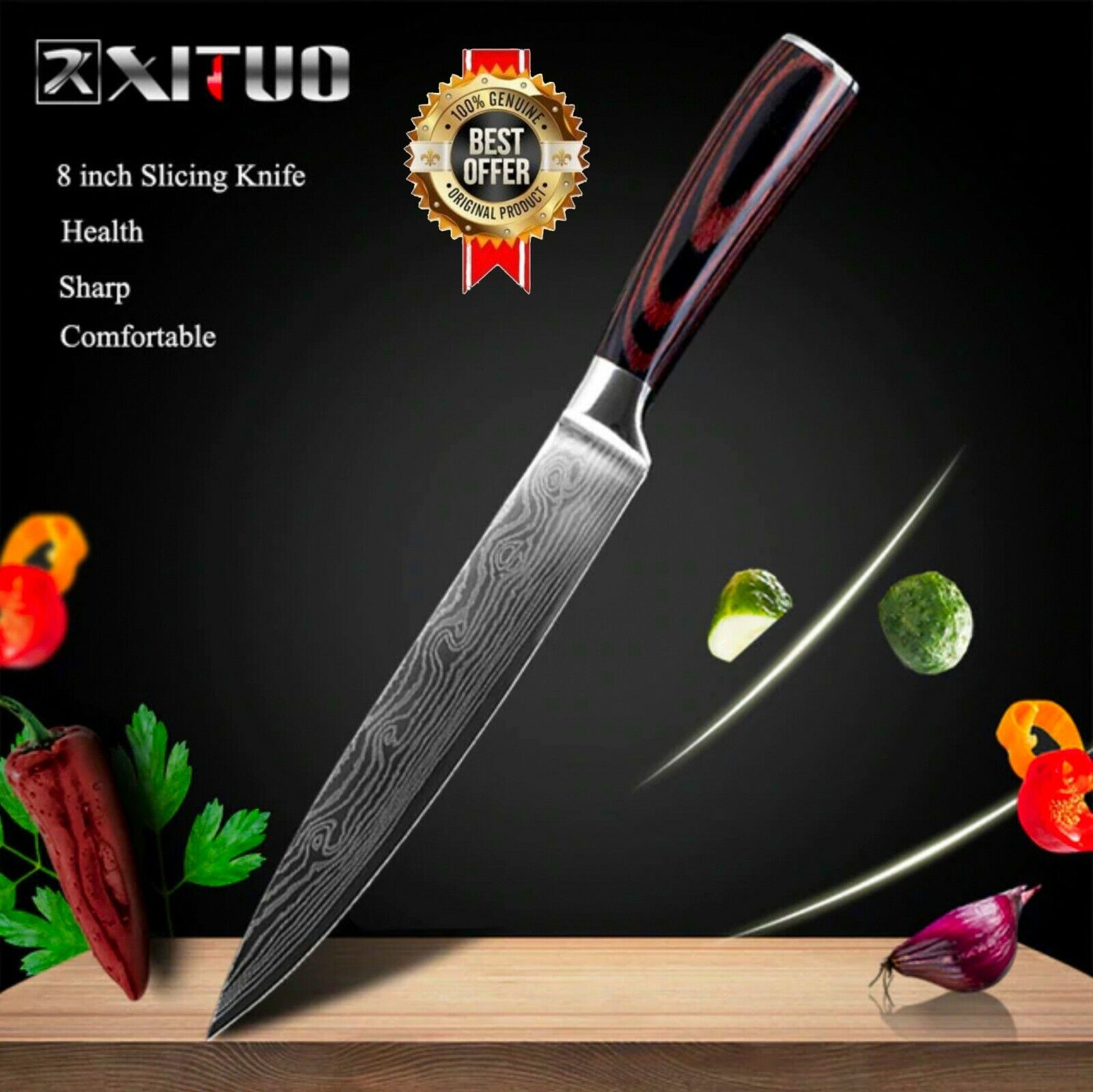 Model-5( 8in Slicing Knife )