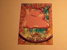#132 Ditto - 2000 Topps Pokemon Series 3 Official Trading Card Blue Logo