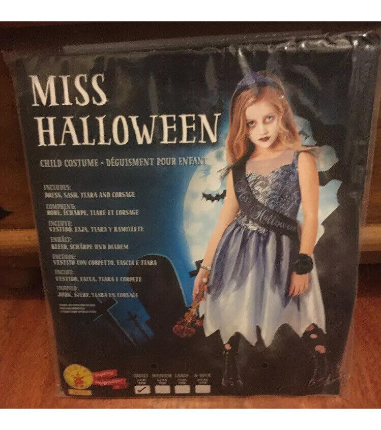 Miss Halloween Child Costume 3-4 years 104cm