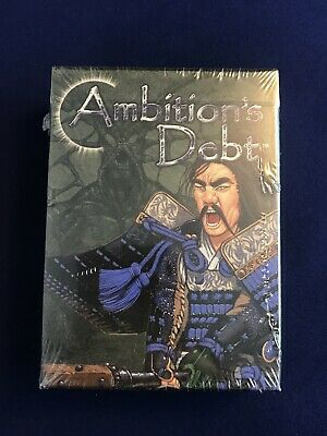 Legend of the 5 Rings Ambitions Debt New Sealed Lion Deck