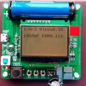 3-7V-Inductance-Coil-Capacitor-ESR-Meter-MG328-Multifunction-Transistor-Tester
