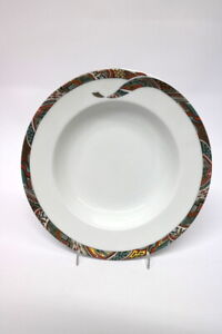 Königlich Tettau Porzellan Topas Mexicain Suppenteller