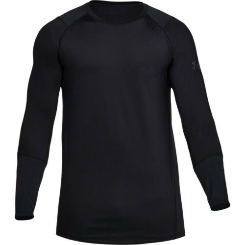 New Under Armour UA Men/'s MK-1 Long Sleeve T-Shirt XL Black