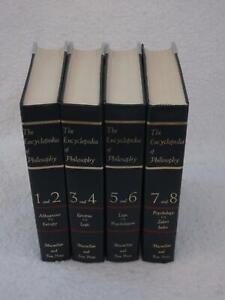 THE-ENCYCLOPEDIA-OF-PHILOSOPHY-4-Volume-Set-Collier-Macmillan-1972-Reprint