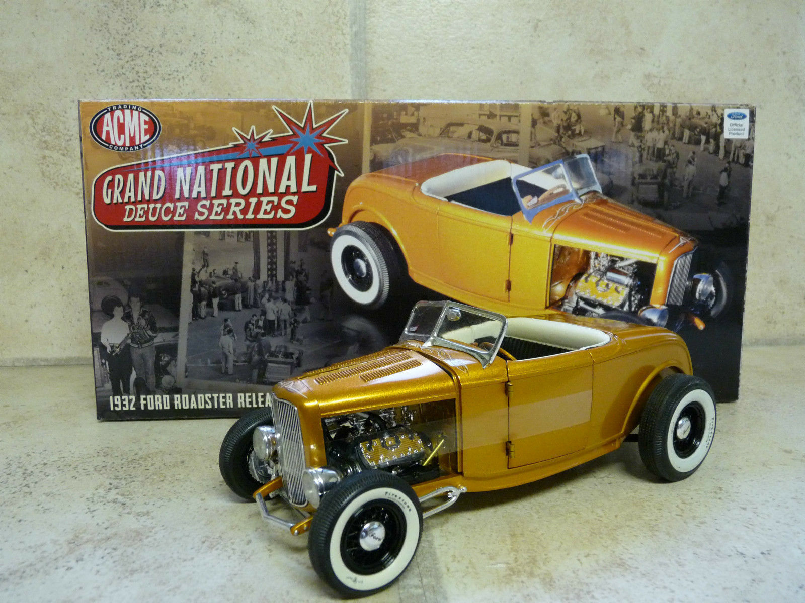 1 18 Gmp   Acme 1932 Ford Grand National Deuce Series 2 - A1805007 -