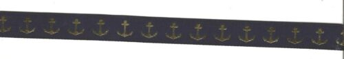 """ANCHOR Ribbon 5//8/"""" Wide by 3 ft or 1 yard Various Colors"""