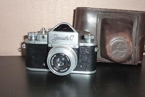KMZ-SLR-Camara-Zenit-C-con-m39-Industar-50-URSS