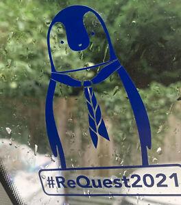 Shackleton The Penguin Car/Window Sticker - Kent Scouts #ReQuest2021