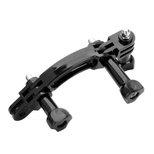 Curved Extension Arm+90 Degree Rotary Connector Chain For GoPro Hero 2 3+4 5