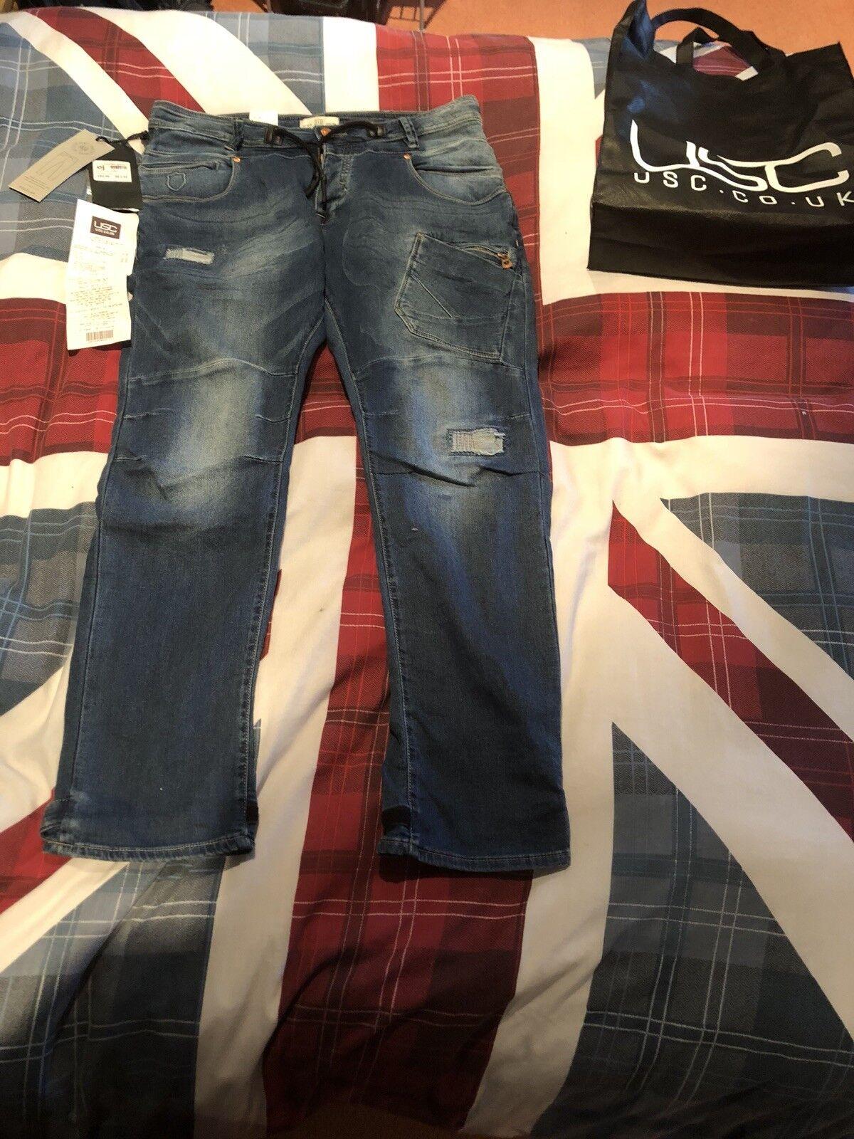 Uomo Police Cassaday Jogger ACTV DNM Jeans