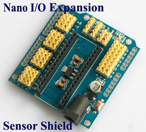 Arduino Nano Sensor Shield I/O Extension Board Expansion Module Uno IO V3 V3.0