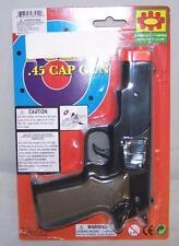 12 CAP GUN 45 PLASTIC SHOOTER play toy guns boy TOYS new play pistol NOISE NEW