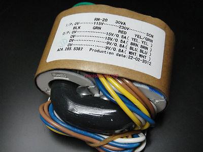 115V/230V 30W R-Core Transformer for Audio high quality 15V+15V 9V+9V for DAC