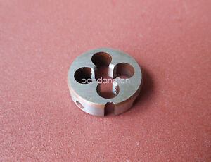 1pcs HSS Right Hand Die 4#-40UNC Dies Threading 4-40UNC