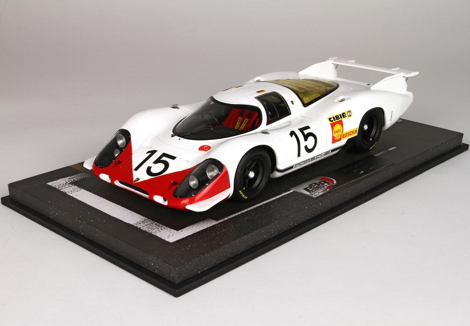 Porsche 917 System Engineering  15 24H Le Mans 1969 BBR 1 18 BBRC1833D