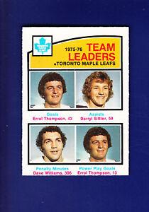 Thompson-Sittler-TL-HOF-1976-77-O-PEE-CHEE-OPC-Hockey-394-NM-Maple-Leafs
