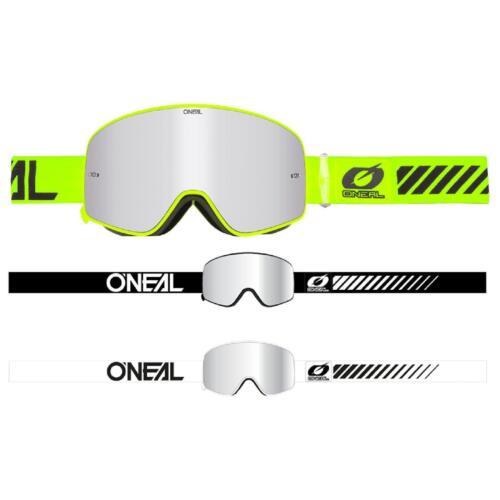 ONeal B-50 Goggle Force Moto Cross Brille Verspiegelt Downhill MX Mountainbike