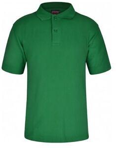 PINK Boys Girls Kids School Polo Shirt T-Shirt Uniform Sports PE Casual POS