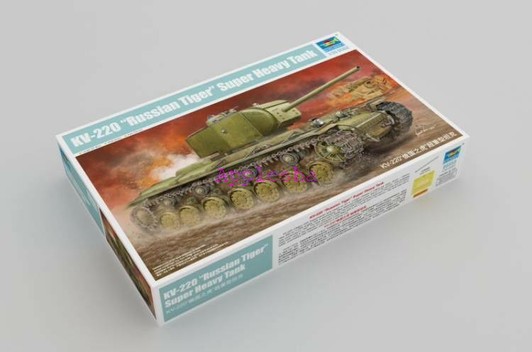 Trumpeter 05553 1 35 Russian Tiger Super Heavy Tank