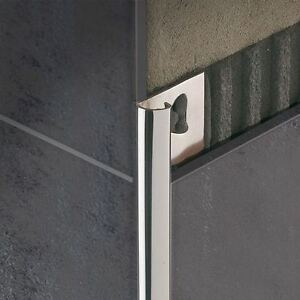 Profilo angolo jolly inox bagno mattonelle piastrelle ebay for Mattonelle per bagno