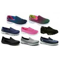 Skechers Go Walk Ladies Womens Slip-on Cushion Comfort Walking Shoes Trainers