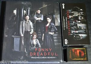 Penny-Dreadful-Mini-Master-Set-Base-Chase-Inserts-Binder-M15-Trading-Cards