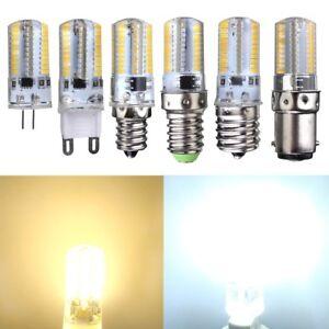 G4/G9/E14/E12/E17/BA15D LED 3014 80 SMD 3W Stiftsockel Leuchte Glühbirne Dimmbar