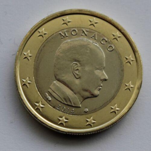1 € Euro circulation coin 2014  Albert MONACO uncirculated
