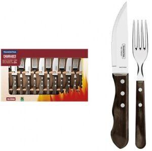 Tramontina Churrasco 12pc Jumbo Tableware Steak Knife Set 21199/996