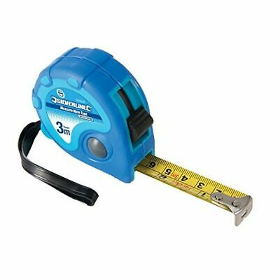 Silverline Hi Visibility Contour Measuring Tape 3m x 16mm Metric /& Imperial