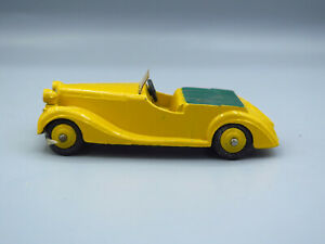 Dinky-Toys-38b-Sunbeam-Talbot-Sports-Car-Yellow-and-Green