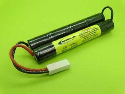 MADE IN USA 9.6V ELITE 1500 30 AMP MINI BATTERY FITS AIRSOFT TM SD6 M4 CA