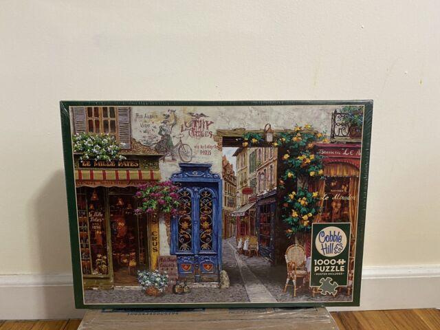 Cobble Hill Random Cut 1000 piece puzzle NEW IN BOX Made in USA