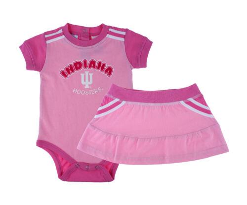 NCAA Girls Infant Indiana Hoosiers 2 Piece Creeper /& Skirt Set