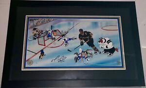 Warner-Brothers-Animation-Cel-Mario-Lemieux-Signed-Goal-Penguins-NHL-Hockey-Cell