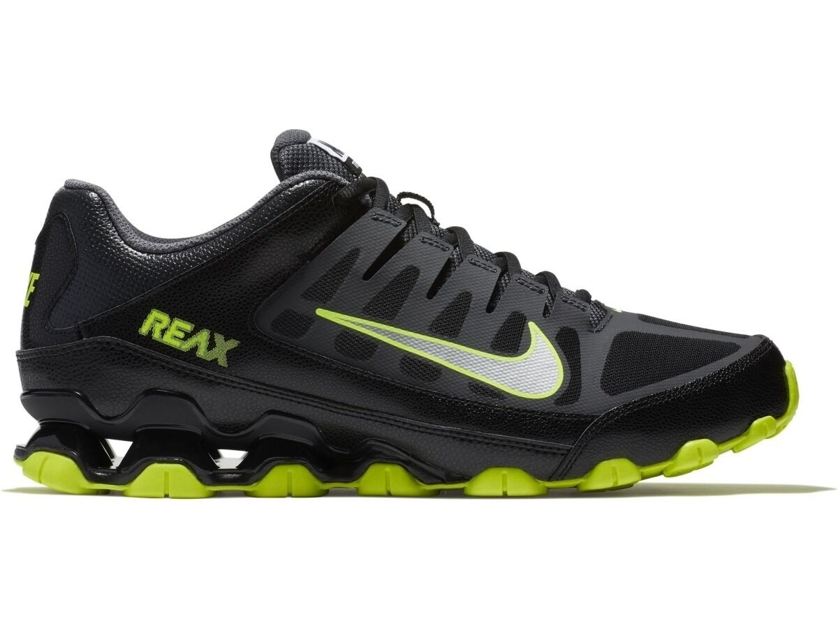 Nuevo En Caja Para Hombre Nike Reax 8 TR Calzado Malla Correr Entrenamiento Calzado TR Tenis BkGrn 022 Cruz 1feb92