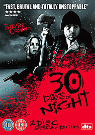1 of 1 - 30 Days Of Night (DVD, 2008, 2-Disc Set)