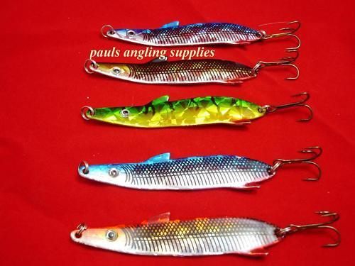 5 Rodskar Trout Salmon Bass Pike Fishing Lures  12 Gram