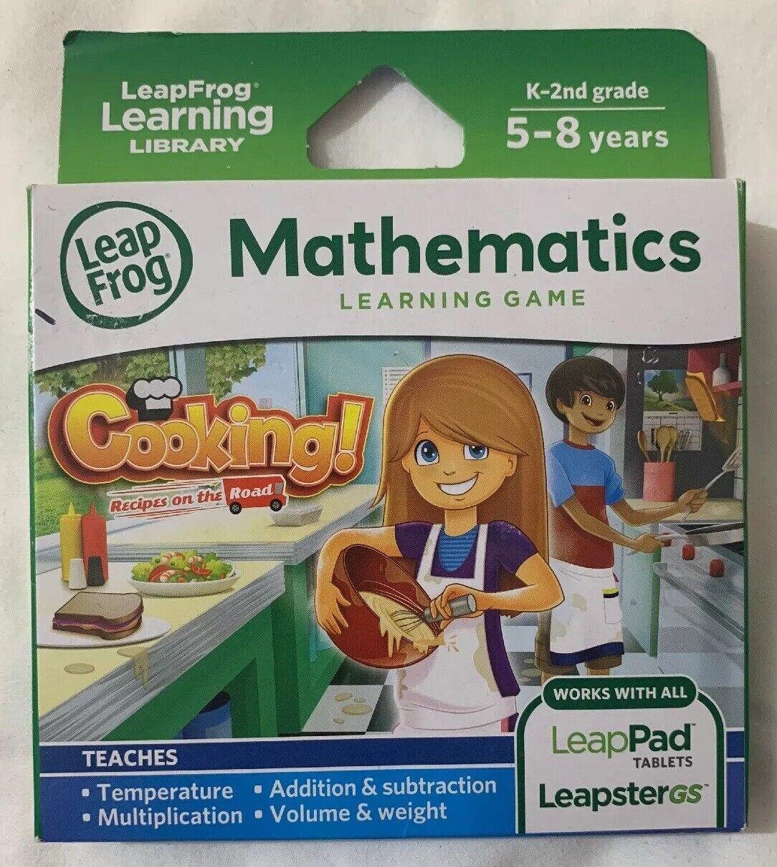 Leapfrog recetas de cocina en la carretera juego de aprendizaje aprendizaje aprendizaje (funciona con LeapPad comprimidos)  bienvenido a elegir