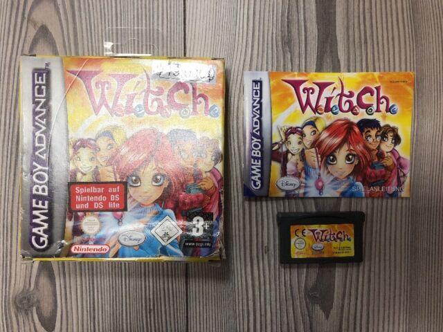 *** W.I.T.C.H. Witch *** GBA Game Boy Advance, SP + DS Lite *** Komplett mit OVP