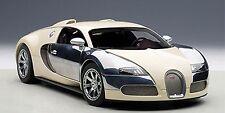 1:18 Autoart Bugatti EB Veyron 16.4 White Hermann a Leiningen + coste lose vitrina