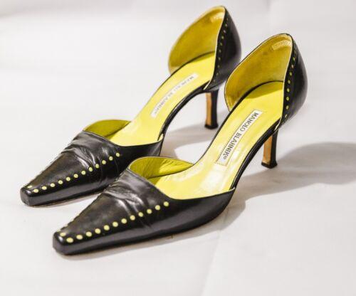 manolo blahnik 37.5 womens shoes