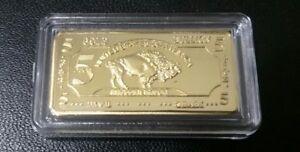 5-GRAM-100-MILLLS-GOLD-BUFFALO-BULLION-BARS-999-FINE-24K-BULLION